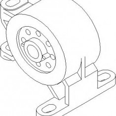 Suport, transmisie manuala FORD MONDEO Mk II combi 1.6 i - TOPRAN 302 019 - Tampon cutie viteze