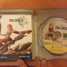 Joc Ps3 Final Fantasy XIII - Jocuri PS3 Square Enix, Role playing, 16+
