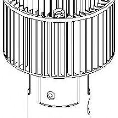 Electromotor, ventilatie interioara AUDI 500 1.8 - TOPRAN 108 630 - Motor Ventilator Incalzire