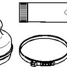 Ansamblu burduf, articulatie planetara CITROËN C8 2.0 HDi - TOPRAN 721 152 - Burduf auto