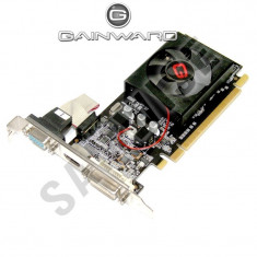 Placa video Gainward nVidia 8400GS 1GB DDR3 64-Bit DVI VGA HDMI...Garantie!! - Placa Video Ati Radeon HD 5450 Asus