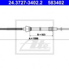 Cablu, frana de parcare SEAT IBIZA V 1.2 - ATE 24.3727-3402.2