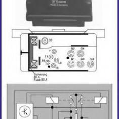 Releu, instalatia de comanda bujii incandescente VW LT Mk II platou / sasiu 2.8 TDI - HÜCO 132165 - Relee