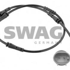 Senzor de avertizare, uzura placute de frana BMW 6 Cabriolet 640 i - SWAG 20 93 6429 - Senzor placute