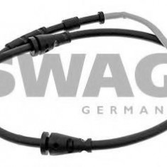 Senzor de avertizare, uzura placute de frana BMW 3 cupe M - SWAG 20 94 4356 - Senzor placute
