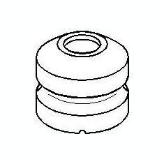 Tampon cauciuc, suspensie OPEL CORSA A hatchback 1.5 D - TOPRAN 200 426