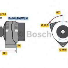 Generator / Alternator - BOSCH 0 124 515 190 - Alternator auto