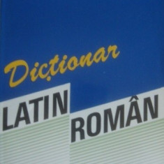 Dictionar latin-roman de Voichita Ionescu