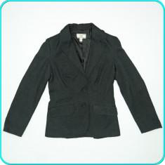 Sacou dama, stofa fina, modern, frumos, MANGO → femei | marimea EUR 38 (D 36), Gri, Poliester