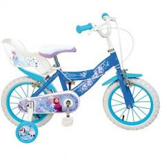 Bicicleta Frozen 16 inch - Bicicleta copii Toimsa