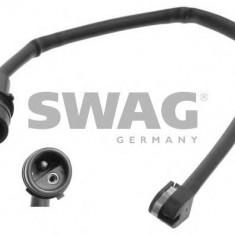 Senzor de avertizare, uzura placute de frana PORSCHE 911 Cabriolet 3.1 SC Carrera - SWAG 20 93 3411 - Senzor placute