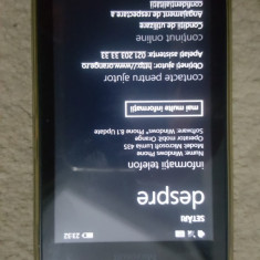Microsoft Lumia 435 - Telefon Microsoft, Negru, Orange