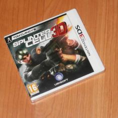 Joc Nintendo 3DS - Tom Clancy's Splinter Cell 3D, sigilat - Jocuri Nintendo 3DS, Actiune, 12+