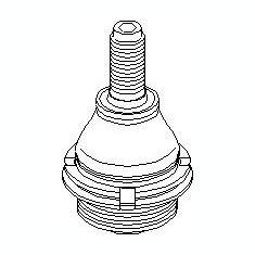 Pivot CITROËN XM 2.1 TD 12V - TOPRAN 720 224