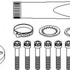 Ansamblu burduf, articulatie planetara AUDI A3 1.8 - TOPRAN 108 380 - Burduf auto
