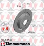 Disc frana MINI MINI cupe John Cooper Works - ZIMMERMANN 150.3489.20