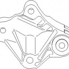 Suport, transmisie manuala FORD C-MAX 1.8 Flexifuel - TOPRAN 304 014 - Tampon cutie viteze