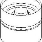 culbutor supapa OPEL VECTRA B hatchback 1.6 i 16V - TOPRAN 201 233