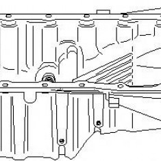 Baie ulei AUDI A4 limuzina 1.6 - TOPRAN 110 958