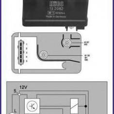 Releu, instalatia de comanda bujii incandescente FIAT TEMPRA 1.9 TD - HÜCO 132082 - Relee
