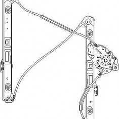 Mecanism actionare geam BMW 3 limuzina 318 i - TOPRAN 501 824 - Macara geam