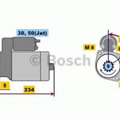 starter SEAT IBIZA Mk III 1.0 16V - BOSCH 0 001 107 025