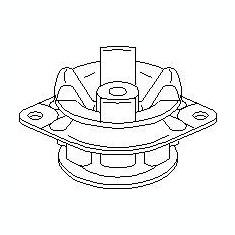 Suport, transmisie manuala AUDI 90 2.6 - TOPRAN 108 905 - Tampon cutie viteze