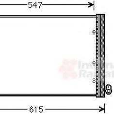 Condensator, climatizare FIAT BRAVA 1.2 16V 80 - VAN WEZEL 17005402
