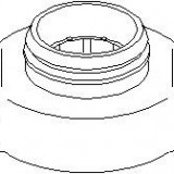 Rulment de presiune CITROËN C5 I 2.0 HDi - TOPRAN 722 070