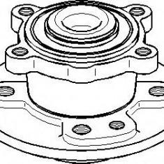 Set rulment roata - TOPRAN 501 019 - Rulmenti auto