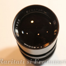 OBIECTIV REXATAR 80-200MM, F:4.5 - Obiectiv DSLR, Tele, Manual focus