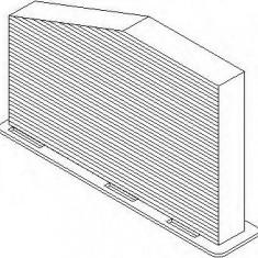 Filtru, aer habitaclu VW EOS 1.6 FSI - TOPRAN 110 091 - Filtru polen