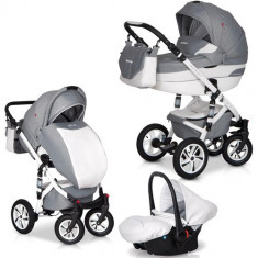 Carucior Durango 3 in 1 Titanium - Carucior copii 2 in 1 Euro-cart