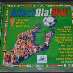 Allez! Ola! Ole! - Campionatul mondial CM Franta 1998 - CD audio original - Muzica Dance sony music