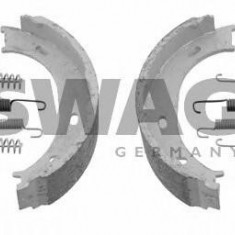 Set saboti frana, frana de mana MERCEDES-BENZ SPRINTER 2-t bus 208 D - SWAG 10 92 3193 - Placute frana