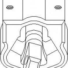 Suport, transmisie manuala MERCEDES-BENZ C-CLASS limuzina C 180 CDI - TOPRAN 400 468 - Tampon cutie viteze