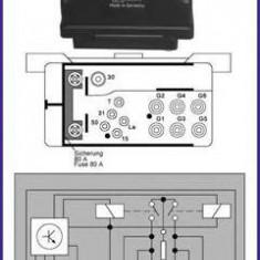 Releu, instalatia de comanda bujii incandescente MERCEDES-BENZ limuzina 300 D - HÜCO 132037 - Relee