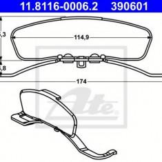 Arc, etrier frana SEAT LEON 1.6 TDI - ATE 11.8116-0006.2 - Arc - Piston - Garnitura Etrier