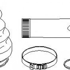 Ansamblu burduf, articulatie planetara VW MULTIVAN Mk V 2.0 - TOPRAN 111 665 - Burduf auto
