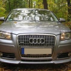 Prelungire spoiler sport tuning bara fata Audi A3 8P Coupe S3 S line RS3 ver1 - Bara Fata Tuning