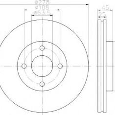 Disc frana FORD IKON V ST150 - TEXTAR 92159003 - Discuri frana