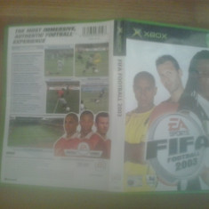 FIFA Fotball 2003 - XBox classic - Jocuri Xbox, Sporturi, 3+, Multiplayer