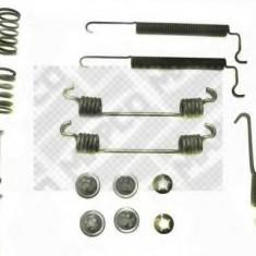 Set accesorii, sabot de frana OPEL ASTRA F 1.7 TDS - MAPCO 9167