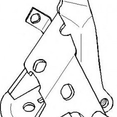 Suport motor SEAT TOLEDO  1.9 D - TOPRAN 102 739 - Suporti moto auto