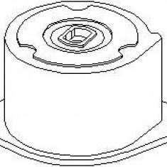 Intinzator curea, curea distributie SKODA FABIA 1.4 - TOPRAN 113 206 - Intinzator Curea Distributie