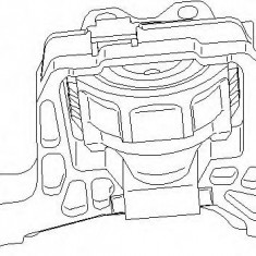 Suport motor FORD FOCUS C-MAX 2.0 - TOPRAN 304 024 - Suporti moto auto