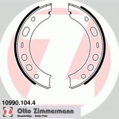 Set saboti frana, frana de mana PORSCHE BOXSTER Spyder - ZIMMERMANN 10990.104.4 - Saboti Frana de Mana