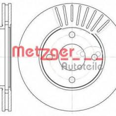 Disc frana FORD FIESTA Mk IV 1.3 i - METZGER 6575.10 - Discuri frana