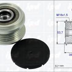 Sistem roata libera, generator OPEL CORSA D Van 1.2 - IPD 15-3865 - Fulie