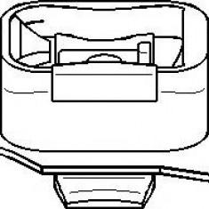 Suport, transmisie manuala FORD FOCUS 1.8 DI / TDDi - TOPRAN 301 805 - Tampon cutie viteze